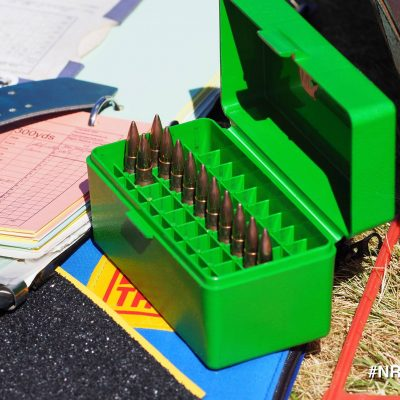 Case of 7.62 rounds
