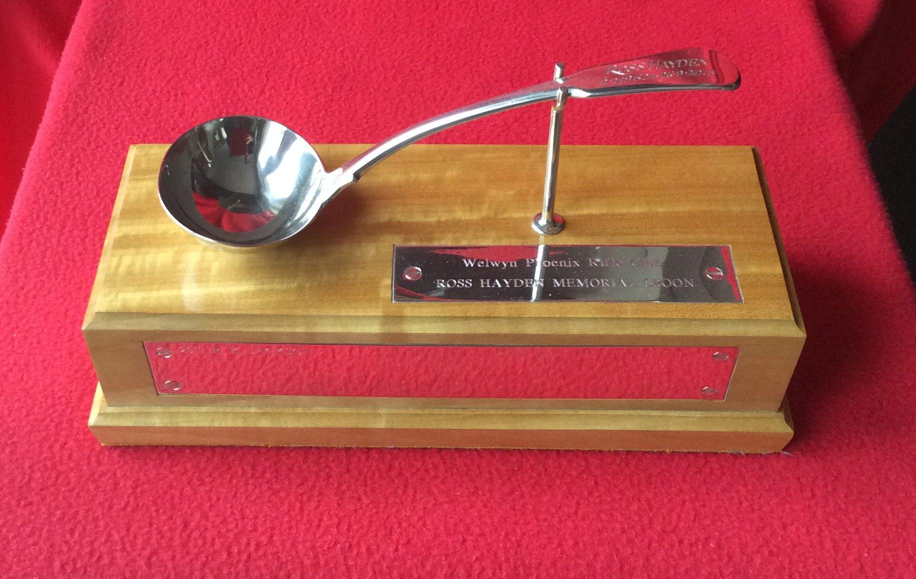 Ross Hayden Memorial Spoon
