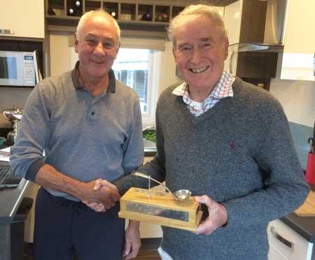 Ross Hayden Memorial Spoon was proudly presented by Ross's father Dick Hayden